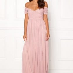 Moments New York Lily Draped Gown Dusty pink 34