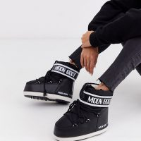 Moon Boot Exclusive classic low black snowboots