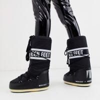Moon Boot Nylon Icon snowboots in black