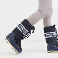 Moon Boot Nylon Icon snowboots in blue