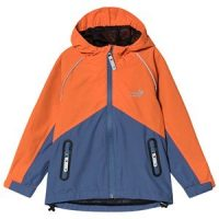 Muddy Puddles Storm Hard Shell Jacket Navy/Red 3-4 years