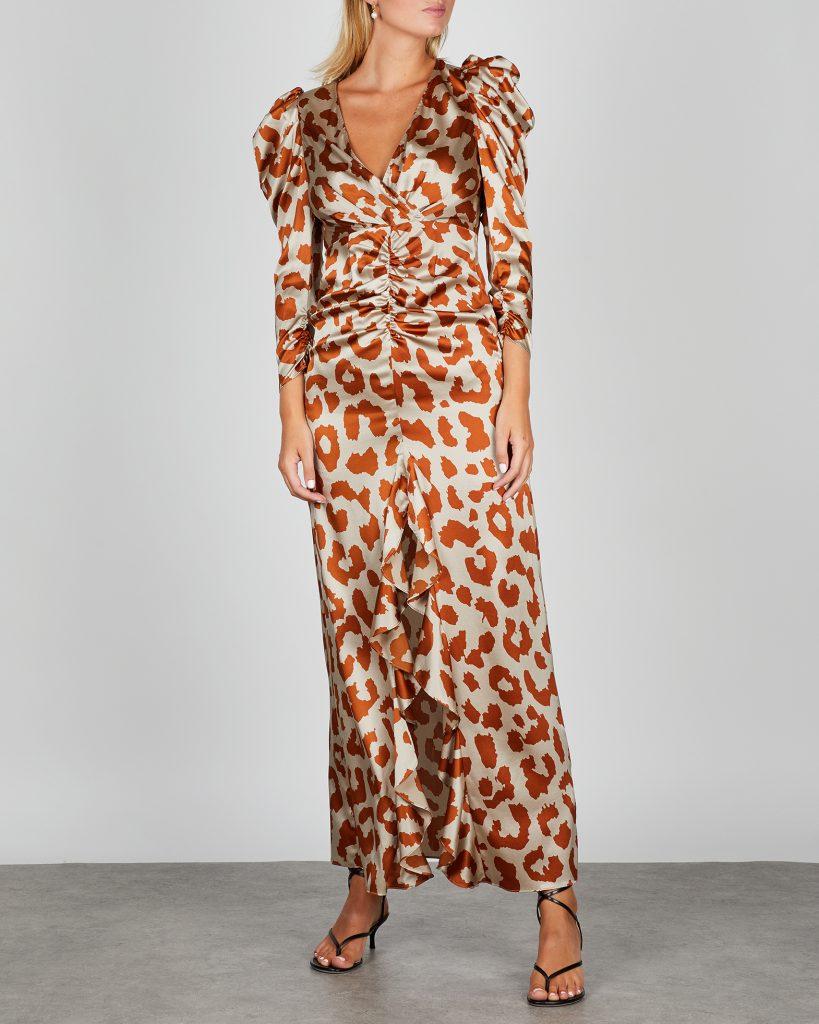 beige Silk dress  Marni  Festkjoler - Dameklær er billig
