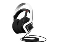 OMEN by HP Mindframe Prime Headset - Hodesett - full størrelse - kablet - USB - hvit - for OMEN Obelisk by HP 875 HP 15, 27 Pavilion Gaming TG01 Pavilion x360 Spectre x360