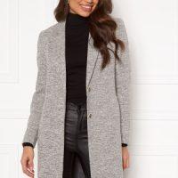 ONLY Carrie Mel Coat Light Grey Melange 34
