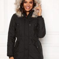 ONLY Iris Fur Winter Parka Black S