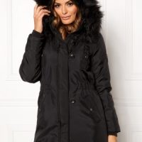 ONLY Iris Fur Winter Parka Black/Black fur L