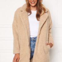 ONLY Laurelia Sherpa Coat Cuban Sand M