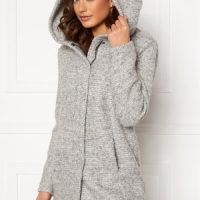 ONLY Sedona Boucle Wool Coat Light Grey Melange S