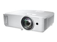 Optoma EH412ST - DLP-projektor - 3D - 4000 ANSI-lumen - Full HD (1920 x 1080) - 16:9 - 1080p - kortkast fast linse