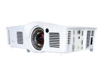 Optoma GT1080e - DLP-projektor - portabel - 3D - 3000 ANSI-lumen - Full HD (1920 x 1080) - 16:9 - 1080p - kortkast fast linse