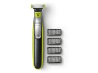 Philips OneBlade Trim QP2530/2 style, og barber, til alle hårlængder, OneBlade, Kul, Lime