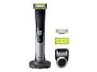 Philips Trimming, kanting og barbering Face + Body, Batteri, Svart, Lime, Sølv
