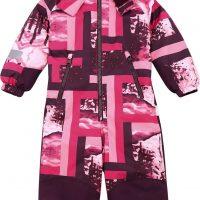 Reimatec Snowy Kiddo Vinterdress, Raspberry Pink, 140