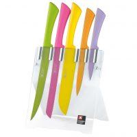 Richardson Sheffield Kjøkkenknivsett 5 deler Love Colour Spring