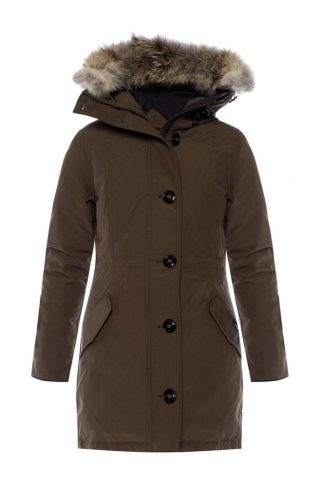 'Rossclair' hooded down jacket