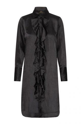 Ruffle Kimono Kjole