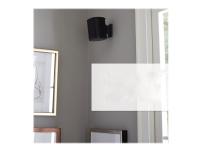 Sanus WSWM21 - Veggmontering for høyttaler(e) - svart - for Sonos One, PLAY:1, PLAY:3