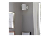 Sanus WSWM22 - Veggmontering for høyttaler(e) - hvit - for Sonos One, PLAY:1, PLAY:3