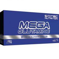 Scitec Mega Glutamine - 120 kapsler - Glutamin