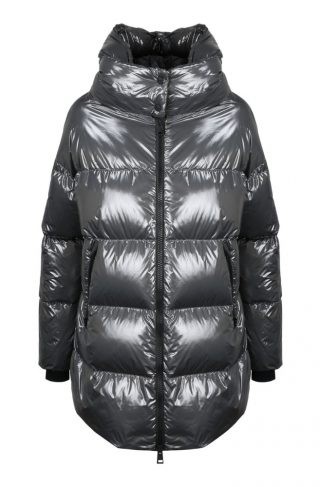 Shiny Effect MID Down Jacket