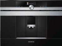 Siemens CT636LES1 - Automatisk kaffemaskin - innebygd - 19 bar - rustfritt stål