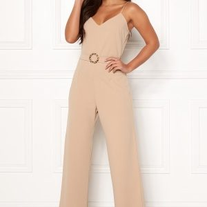 Sisters Point Galma Jumpsuit 211 Camel/Leo XS
