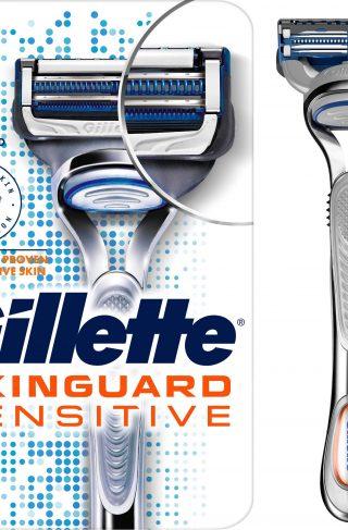 Skinguard Sensitive Razor + 2 Blades
