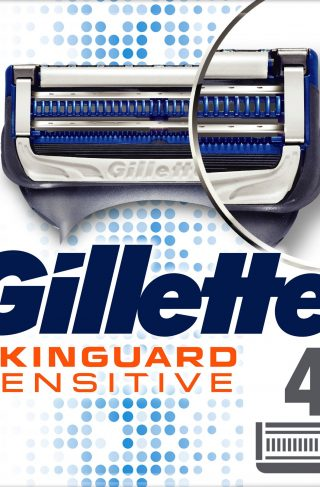 Skinguard Sensitive Razor Blades 4 Pack