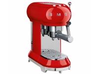 Smeg ECF01RDEU, Espressomaskin, 1 l, Malt kaffe, 1350 W, Rød