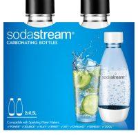 Sodastream Fuse Black 2x0,5L