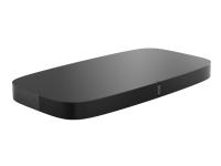 Sonos PLAYBASE - Lydstativ - for TV - trådløs - Ethernet, Wi-Fi - treveis - svart
