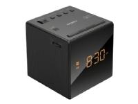 Sony ICF-C1 - Klokkeradio - 100 mW - svart