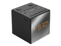 Sony ICF-C1T - Klokkeradio - 100 mW - svart
