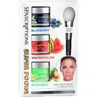 Superfoods Masks Blueberry Watermelon Avocado, 50 ml Spascriptions Ansiktsmaske