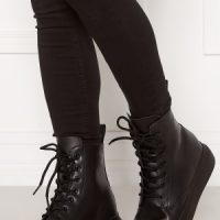 Svea Sneaker Leather Boots 900 Black 39
