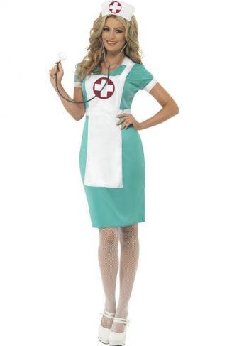 Sykepleier Kostyme Medium