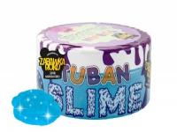 TUBAN Plastic compound Super Slime Glitter neon blue 0.2 kg-TU3108