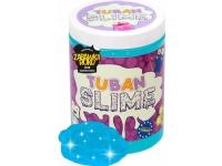 TUBAN Plastic compound Super Slime Glitter neon blue 1 kg-TU3110