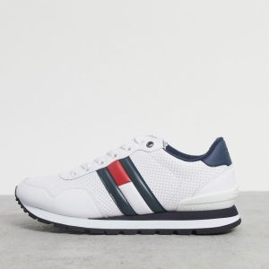 Tommy Hilfiger logo sneakers in white
