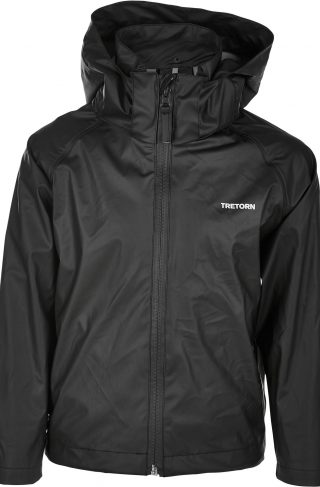 Tretorn Packable Regnsett, Black 122-128