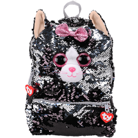 Ty Plush - Sequin Square Backpack - Kiki the Cat (TY95057)