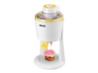 UNOLD 48860 Softi - Iskremmaskin - 1.2 liter - 18 W - hvit/gul