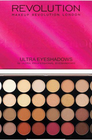 Ultra 32 Eyeshadow Palette, Makeup Revolution Øyenskygge