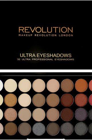Ultra 32 Shade Eyeshadow Palette, Makeup Revolution Øyenskygge