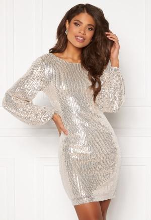 VILA Starlan L/S Dress Frosted Almond XL