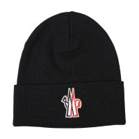 Virgin wool beanie hat
