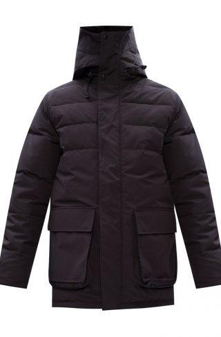'Wedgemount' jacket with split hood
