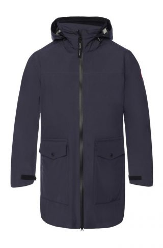 'Wolfville' drawstring hood jacket