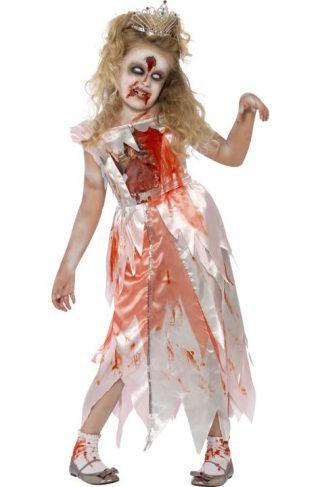 Zombie Prinsesse Kostyme Medium