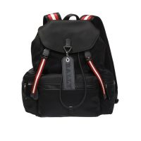 Backpack with logo pendant